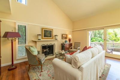 Sausalito Condo/Townhouse For Sale: 18 Willow Lane
