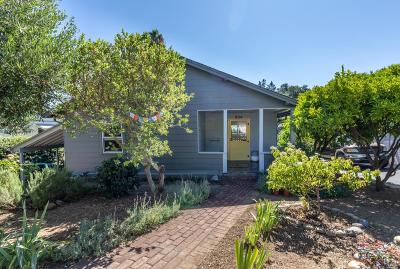 Healdsburg CA Single Family Home For Sale: $959,000