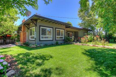 Healdsburg Single Family Home For Sale: 15000 Chalk Hill Road