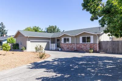Novato Single Family Home For Sale: 2265 Center Road