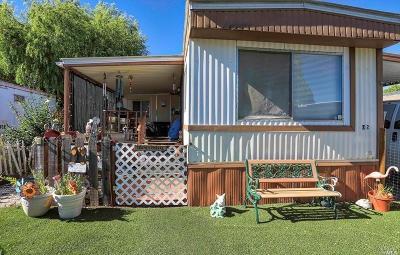 Kelseyville Mobile Home For Sale: 5701 Live Oak Drive #72