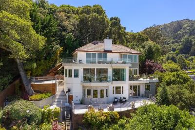 Sausalito Single Family Home For Sale: 123 Woodward Avenue