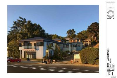 Mill Valley Single Family Home For Sale: 550 Miller Avenue