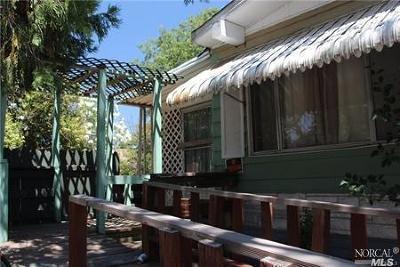 Kelseyville Mobile Home For Sale: 5966 Live Oak Drive #.