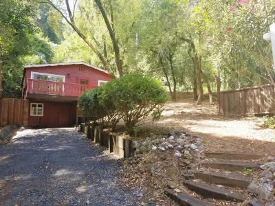 Healdsburg Single Family Home For Sale: 2670 North Fitch Mountain Road