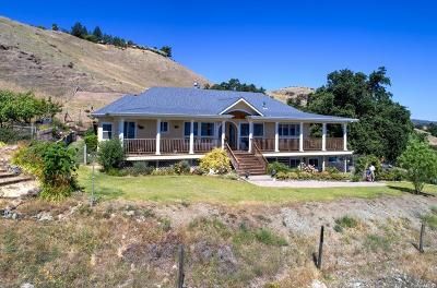 Lakeport CA Single Family Home For Sale: $899,500