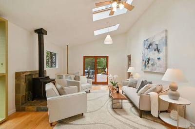 Mill Valley Single Family Home For Sale: 806 Edgewood Avenue