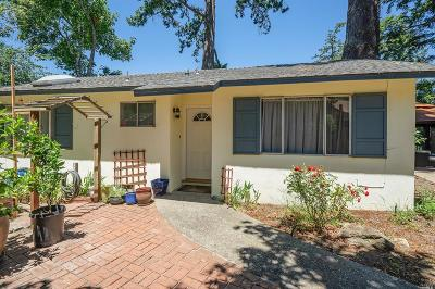 Marin County Multi Family 2-4 For Sale: 84 Sanchez Road