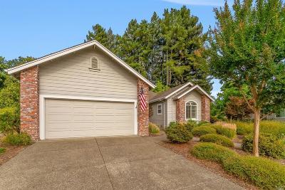 Santa Rosa CA Single Family Home For Sale: $862,000