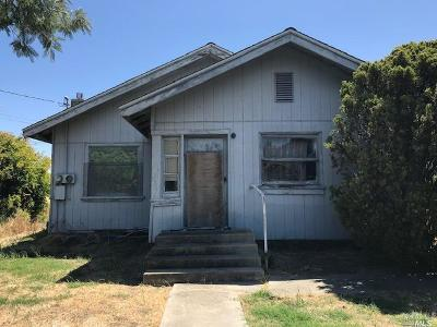 Fairfield Single Family Home For Sale: 1776 Sunset Avenue