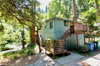Guerneville CA Single Family Home For Sale: $399,000