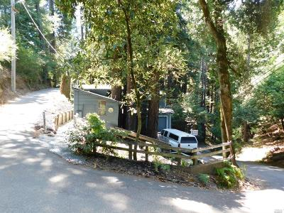 Guerneville, Monte Rio, Cazadero, Forestville Single Family Home For Sale: 12060 Tunstall Drive