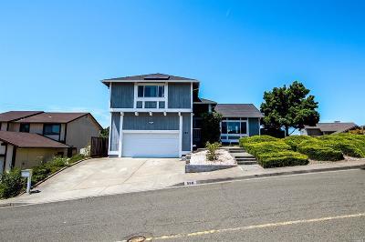 Vallejo Single Family Home For Sale: 580 Birkdale Drive