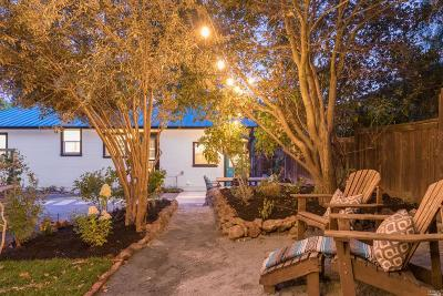 Sonoma Single Family Home For Sale: 95 Mountain Avenue