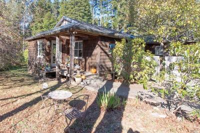Mendocino County Single Family Home For Sale: 44280 Gordon Lane