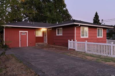 Sonoma Single Family Home For Sale: 814 5th Street West