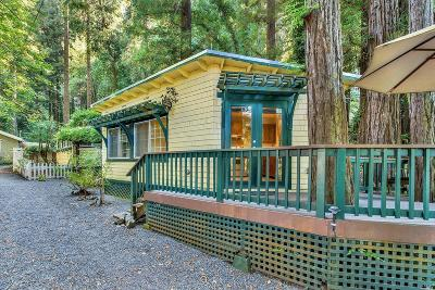 Monte Rio Single Family Home For Sale: 9217 Green Lane