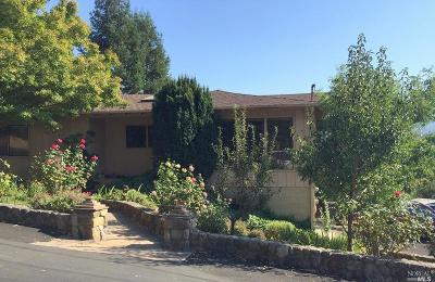 St. Helena Rental For Rent: 115 Camino Vista