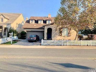 Vallejo Single Family Home For Sale: 4091 Summer Gate Avenue