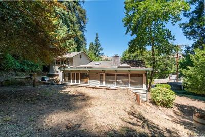 Marin County Single Family Home For Sale: 132 Redwood Drive