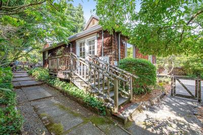 Mill Valley Multi Family 2-4 For Sale: 933 East Blithedale Avenue