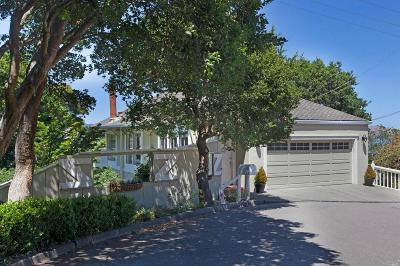 Sausalito CA Single Family Home For Sale: $1,698,000