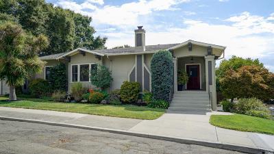 Vallejo Single Family Home For Sale: 1000 Napa Street