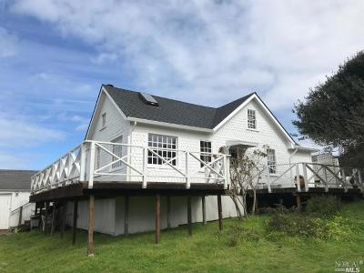 Mendocino Single Family Home For Sale: 10450 Heeser Street