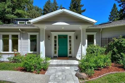 Kentfield Single Family Home For Sale: 309 Crown Road