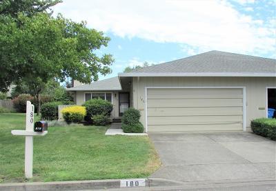 Santa Rosa CA Single Family Home For Sale: $510,000