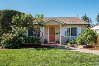 Novato Single Family Home For Sale: 667 Peach Street