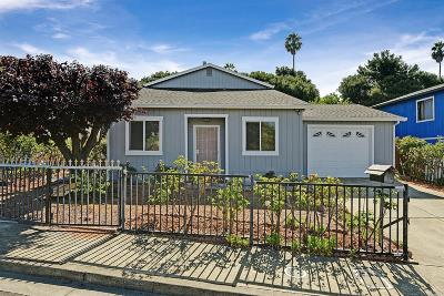 Vallejo Single Family Home For Sale: 156 Peach Street