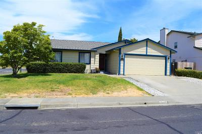 Suisun City Single Family Home Contingent-Show: 1485 Monitor Avenue