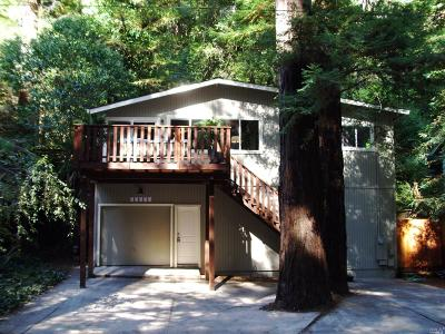 Guerneville CA Single Family Home For Sale: $499,000