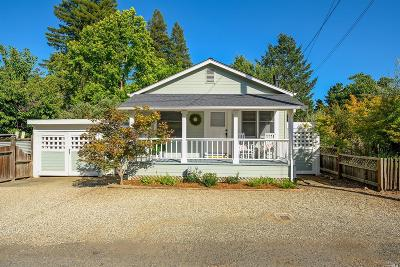 Napa County Single Family Home For Sale: 1723 Hillview Place