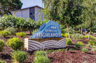 Benicia Condo/Townhouse For Sale: 900 Cambridge Drive #48