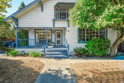 Healdsburg Single Family Home For Sale: 112 Sherman Street