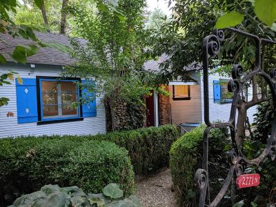 Healdsburg Single Family Home For Sale: 2771 North Fitch Mountain Road