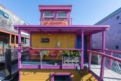 Sausalito Mobile Home For Sale: 50 Issaquah Dock