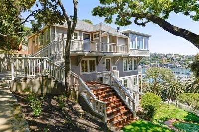 Marin County Single Family Home For Sale: 147 Beach Road