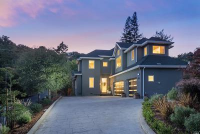 San Anselmo Single Family Home For Sale: 30 Oak Knoll Drive