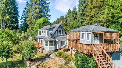 Sonoma County Multi Family 2-4 For Sale: 15373 River Road
