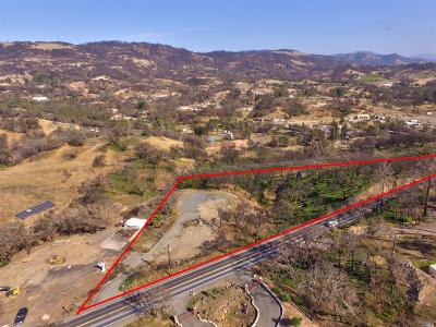 Residential Lots & Land For Sale: 1490 Mark West Springs Road