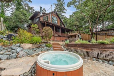 Marin County Single Family Home For Sale: 33 Rosario Road