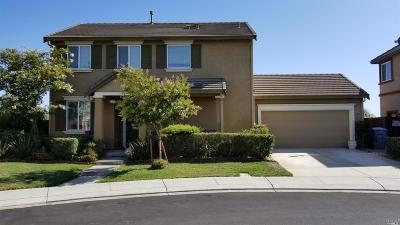 Vacaville Single Family Home For Sale: 3019 Wimbledon Court