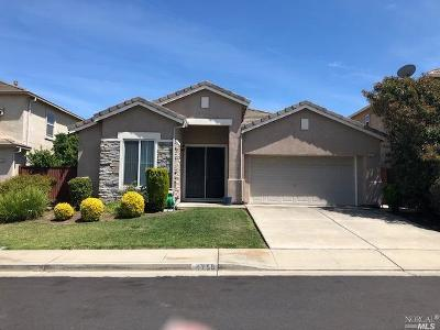 Fairfield CA Single Family Home For Sale: $529,000