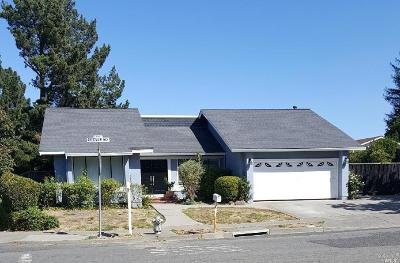Napa County Single Family Home For Sale: 3448 Crestview Way