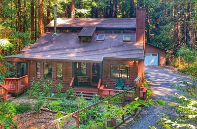 Sonoma County Single Family Home For Sale: 1780 Austin Creek Road