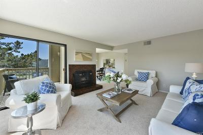 Mill Valley Condo/Townhouse For Sale: 21 Byron Circle