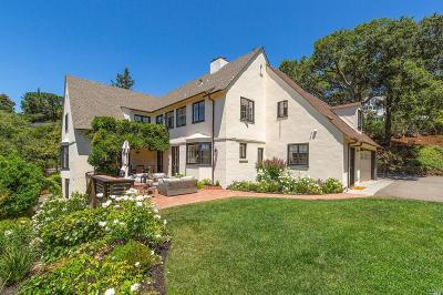 Kentfield Single Family Home For Sale: 10 Hotaling Court